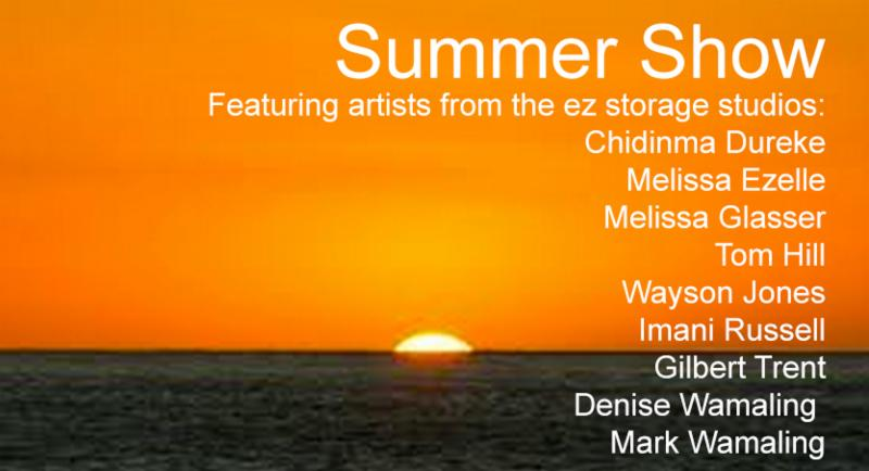Summer Show 2015 - ezStorage Studios Artists